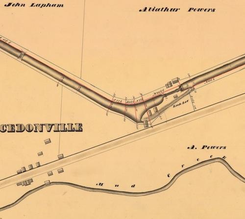 1834 Village Map