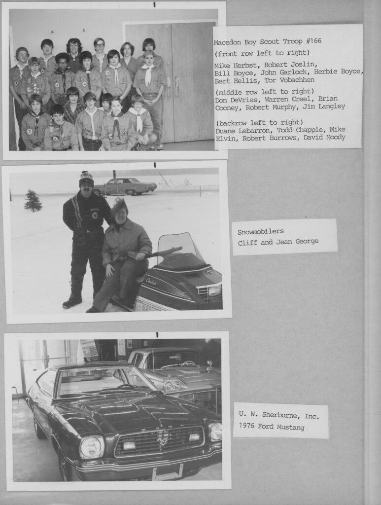 1976 Photo Album page 30