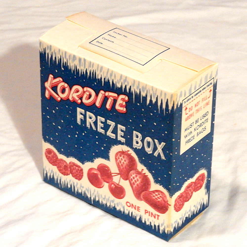 assembled Kordite freze box