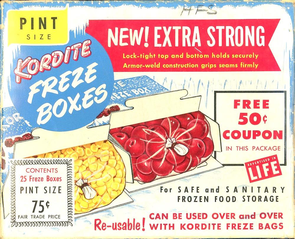 Kordite freze box