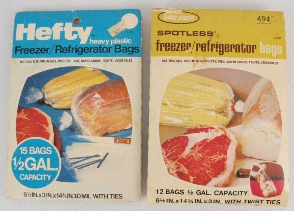 Kordite freezer/refrigerator bags