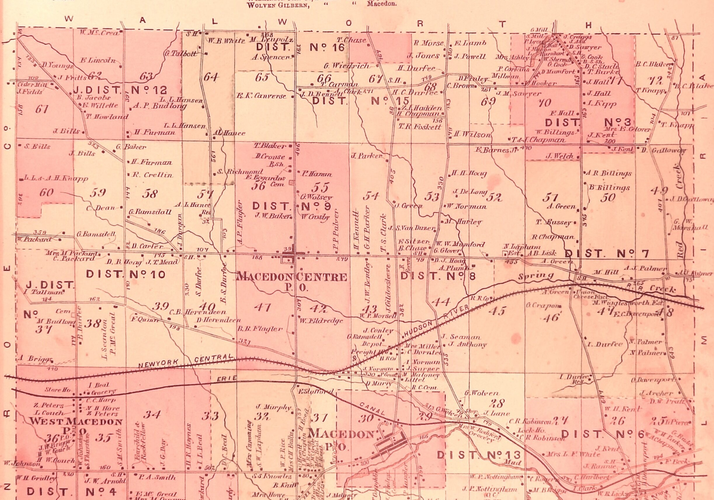 1874 Town Map